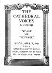 Catherdral Voices in Concert