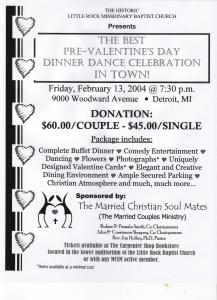 Pre-Valentine's Day Dinner Dance