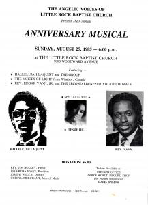 Little Rock Baptist Church: Angelic Voices Annual Anniversary Musical