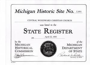 Michigan Historic Site
